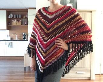 Crochet poncho Poncho crochet