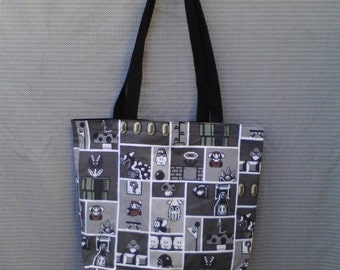 Mario Game Tote Bag