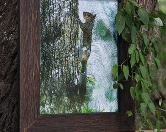 "Art Print ""Wolfhound Tree Spirit"""