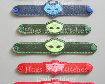 PJ Masks inspired Bracelets | Wristbands