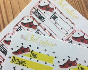 Training Tracking Planner Stickers by Ella Couture by Jessica