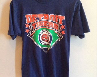 Vintage Detroit Tigers shirt - 1988 - Trench brand