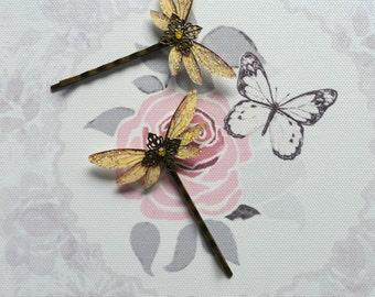 Magical Winged Hair Pins