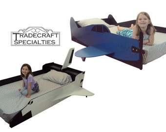 Aircraft furniture etsy for Airplane bed frame