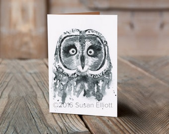 Hootie The Owl Greeting Card