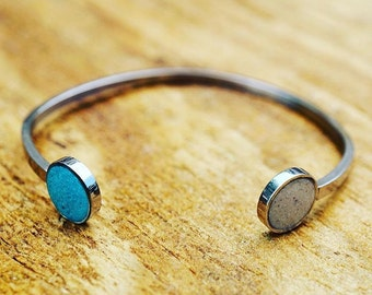 Land and Sea Cuff Bracelet