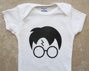 Harry Potter Onesie - funny onesies, baby shower gift, nerd onesies, baby boy gift