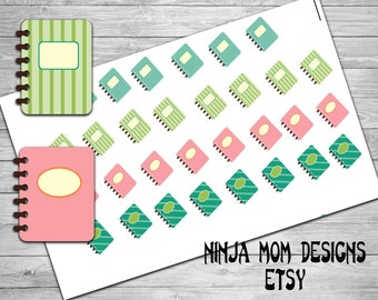 Happy Little Planner Stickers- Perfect for Planners