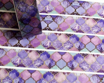 Purple Morocco washi tape