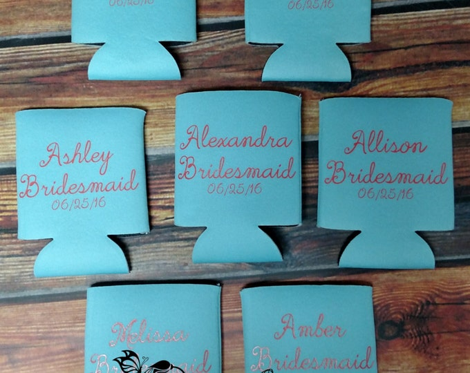 Featured listing image: Custom bridal party coolers