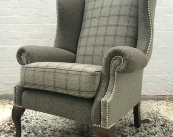 Grand Wing Chair - Sold but can make similar