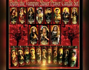 Buffy prayer candles