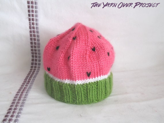 how to make a watermelon hat