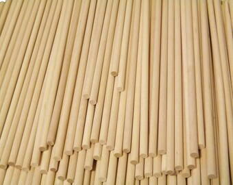 """1/2"""" x 36"""" wood dowels (10)"""