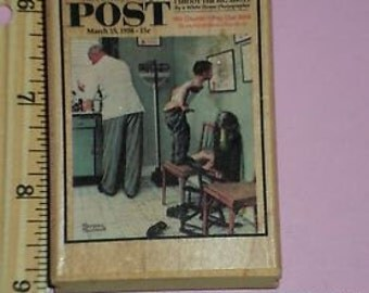 Norman Rockwell stamps