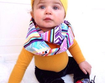 New Tribal Baby Infinity Scarf
