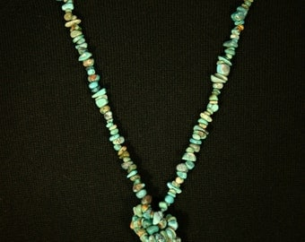 Turquoise Necklace # 522