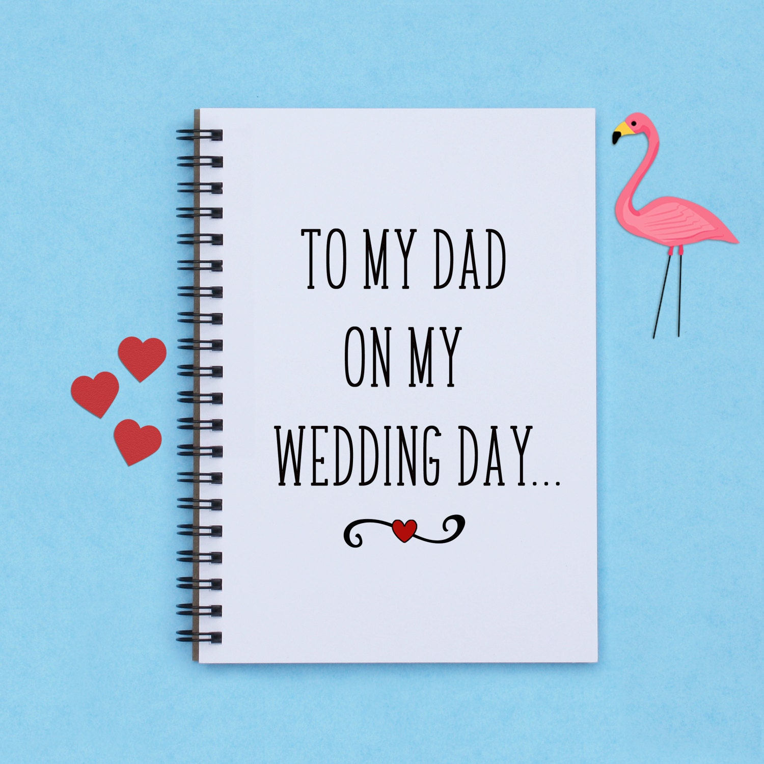 Gift For My Dad On My Wedding Day : gift for Dad To My Dad on My Wedding Day 5x7