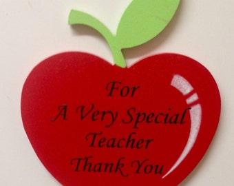 Teachers Gift - Apple Fridge Magnet