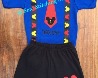 Mickey Mouse Birthday shirt, Mickey Mouse Birthday, Mickey Mouse, Mickey Mouse outfit, Mickey Mouse First Birthday, Minnie Mouse,