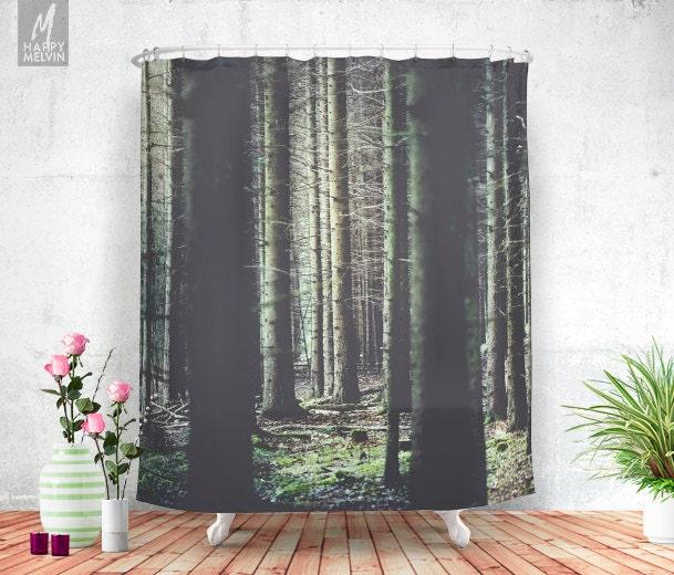 Forest feelings shower curtain bathroom decor home for Forest bathroom ideas