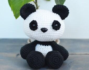 Domino The Dog Amigurumi Crochet Pattern : Cute Dog Crochet Pattern. Domino The Dog Amigurumi Crochet