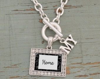 My Home Colorado Toggle Necklace - 57583CO