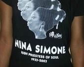 Nina Simone T-shirt by SoulSeed Tees