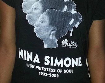 Nina Simone T-shirt by SoulSeed Tees