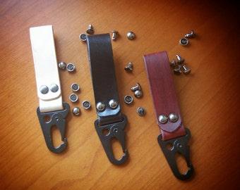Leather Key Fob / Belt Hanger