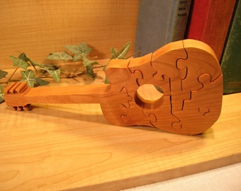 Guitar Wooden Puzzle #341