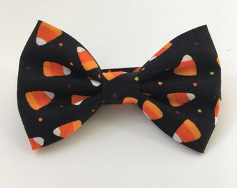 Candy Corn Bow Tie - Halloween Bow Tie