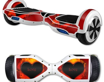 Skin Decal Wrap for Self Balancing Scooter Hoverboard unicycle Love