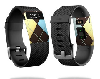 Skin Decal Wrap for Fitbit Blaze, Charge, Charge HR, Surge Watch cover sticker Argyle