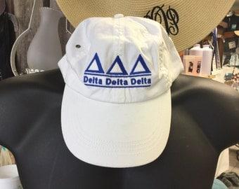 Custom Delta Delta Delta Hat
