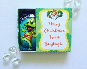 Christmas matchboxes