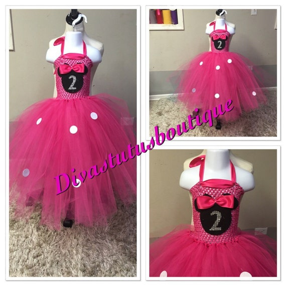 Minnie Mouse 2nd Birthday Dress Outfit By Divastutusboutique