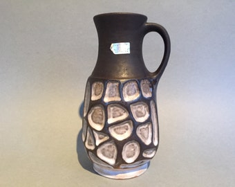 Carstens Tönnieshof  7222 - 20, uncommon Vintage design vase ,  made in the 1960s / 1970s in West Germany