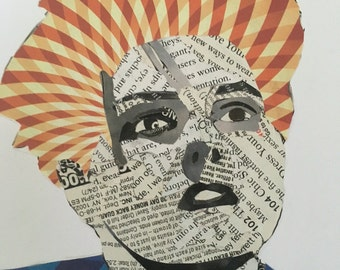Custom newspaper faces