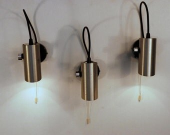 Trio of vintage wall light  Philips 70 '