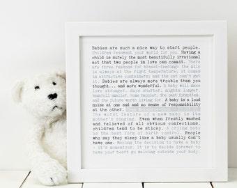 Personalised New Baby Print; Personalised Baby Print; Baby Gift; Personalised Baby Gift; New Baby Gift; Baby; Babies; PAP002