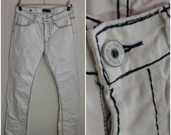 Mens 90s.Jeans White Size W33/L34