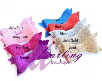 Glitter Clips or Headbands