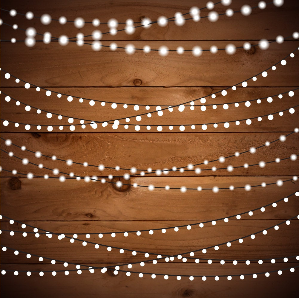 Custom Party String Lights : String Lights Clipart Fairy Lights Clipart Party Lights