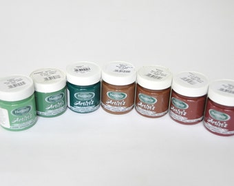 Decoupage Acrylic Paints. Canvas Acrylic Paints. 100 ml