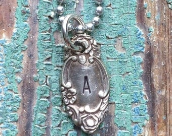 customized initial {necklace}