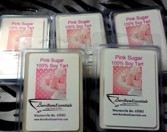 Pink Sugar Soy Tart Melts, Wax Tarts,  Soy Melts Wax Tarts, Scented Soy Wax Melts, Soy Tarts, Soy Melts, Wax Tarts, Candle