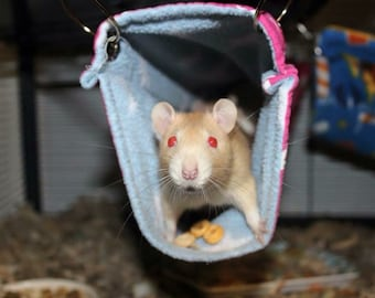 Custom made to order small animal long hanging tunnel (rats, ferrets, chinchillas)