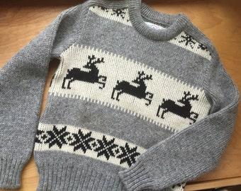 Handknit Cowichan Sweater
