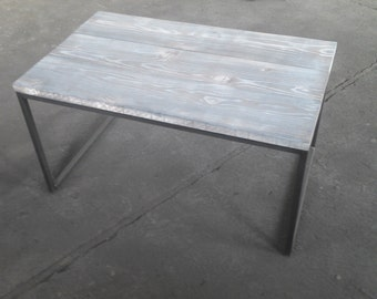 Coffee table series grey industrial used design